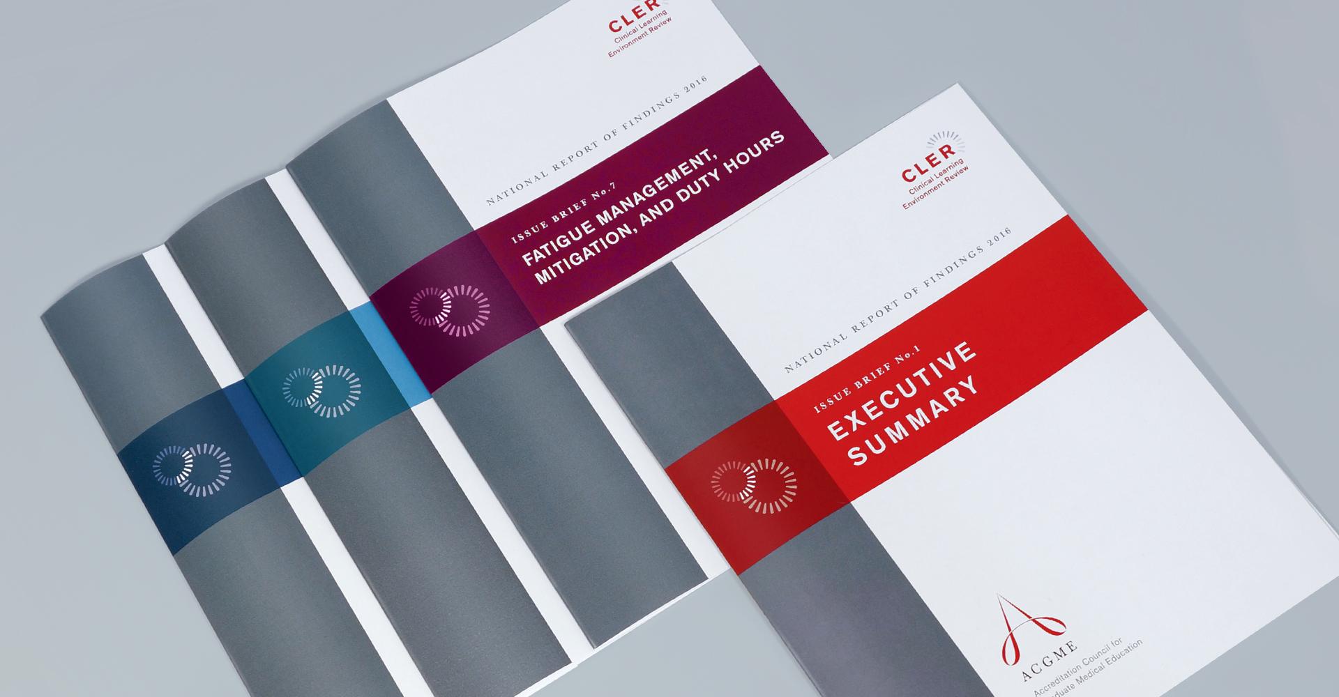 CLER Issue Briefs Brochures